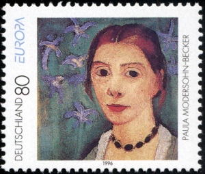 Stamp_Germany_1996_Briefmarke_Europa_Paula_Modersohn-Becker