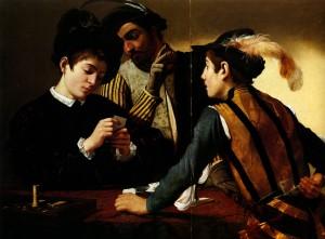 The Cardsharps, c.1594