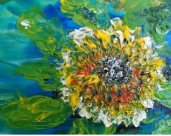 sunflower mde by lirian art