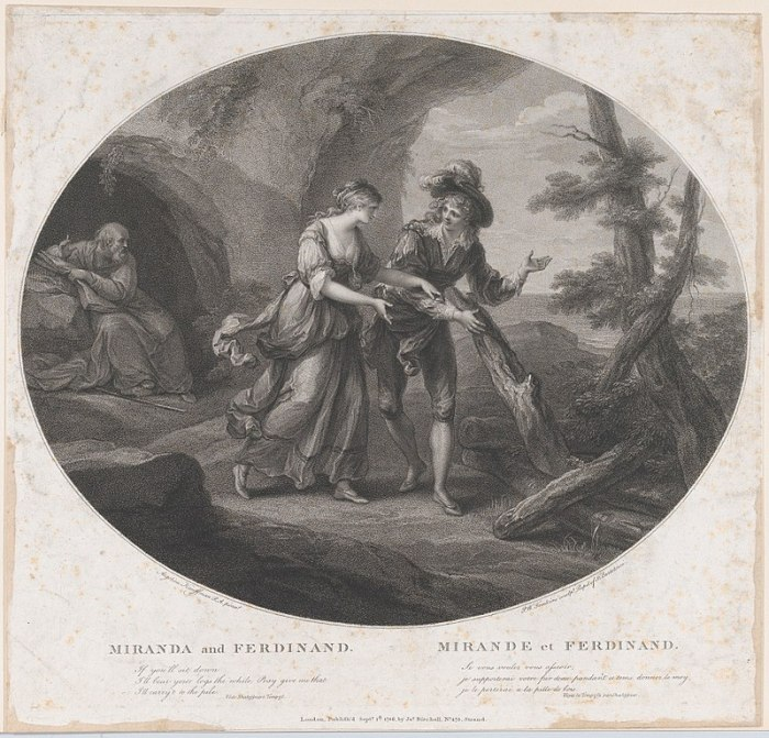 800px-Ferdinand_and_Miranda_(Shakespeare,_The_Tempest,_Act_3,_Scene_1)_MET_DP858683