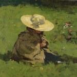 Marietje in het gras van Willem deZwart