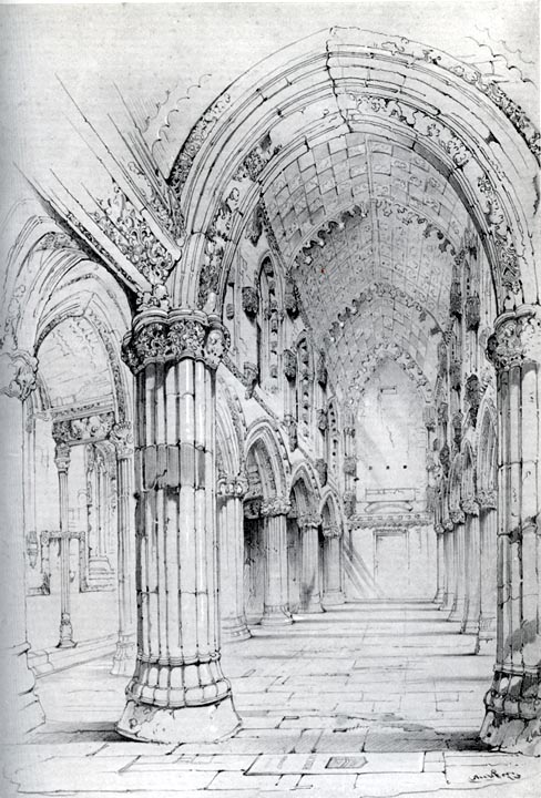 Roslin_Chapel_Watercolor