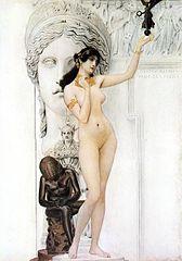 168px-Allegory_of_sculpture_Gustav_Klimt