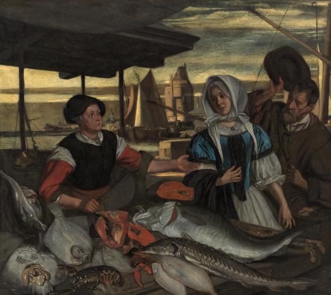 Vismarkt bij avond, Boijmans.jpg