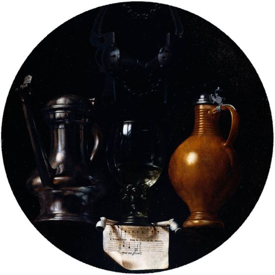 800px-Emblematic_still_life_with_flagon,_glass,_jug_and_bridle_by_Torrentius