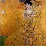 Kunst in goudbeklonken