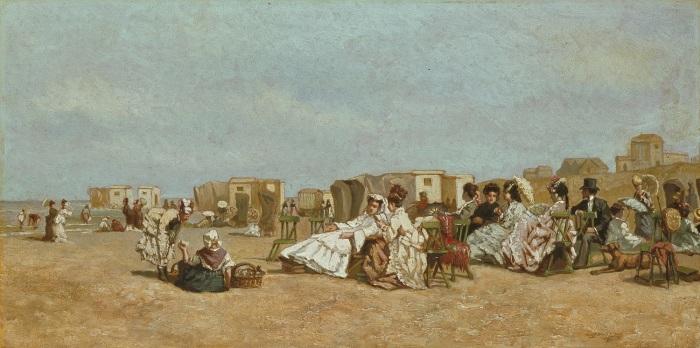 strand-te-scheveningen-joseph-bles-derde-kwart-19de-eeuw-collectie-haags-historisch-museum