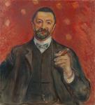 Portret van Felix Auerbach door Edvard Munch nieuwste aanwinst in collectie Van GoghMuseum