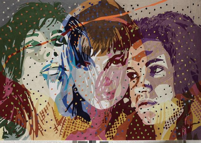 4. Barbara Broekman, Mijn Familie Joke Else Laura, 164 x 237 cm.jpg
