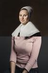 Frans Hals, Portret van een dame met handschoenen, c. 1645/50, Particuliere collectie ter ere van Doris Morksy Koos Breukel, Cosmetic View (Gwennie), 2005, Frans Hals Museum Haarlem
