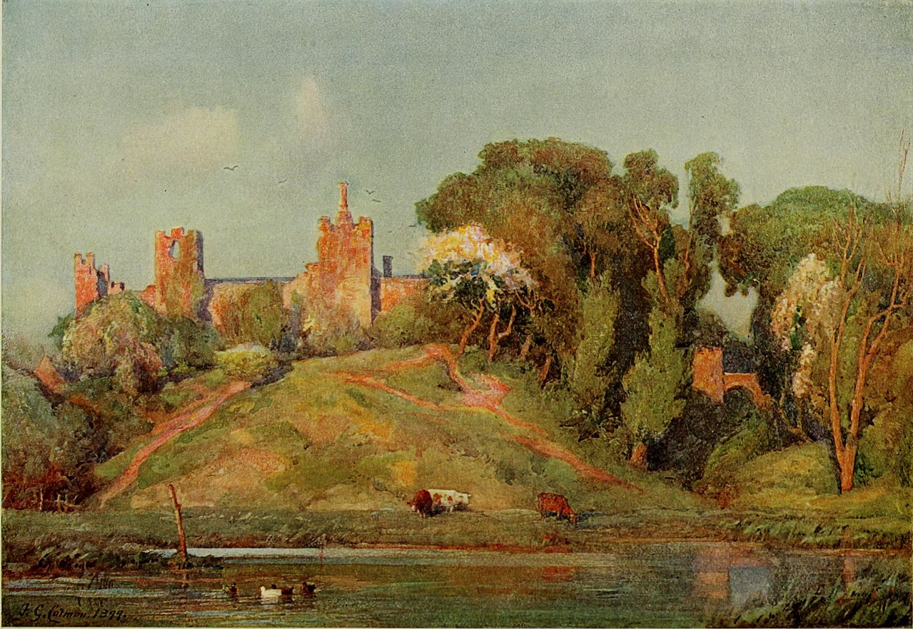 1280px-Frederick_George_Cotman_–_An_Ancient_Fort_in_Suffolk
