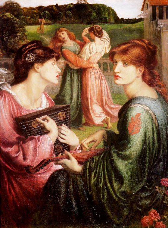 Dante_Gabriel_Rossetti_-_The_Bower_Meadow