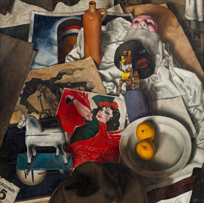 Dick Ket, Sint Nicolaas stilleven, 1933, Museum Arnhem.jpg