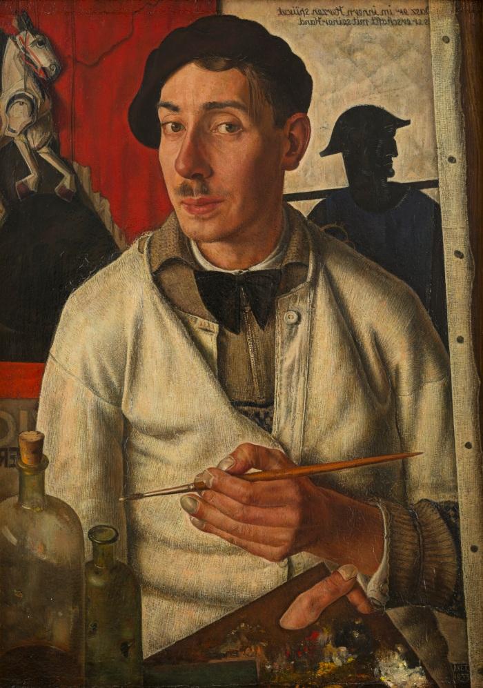 Dick Ket, Zelfportret met baret, 1933, Museum Arnhem
