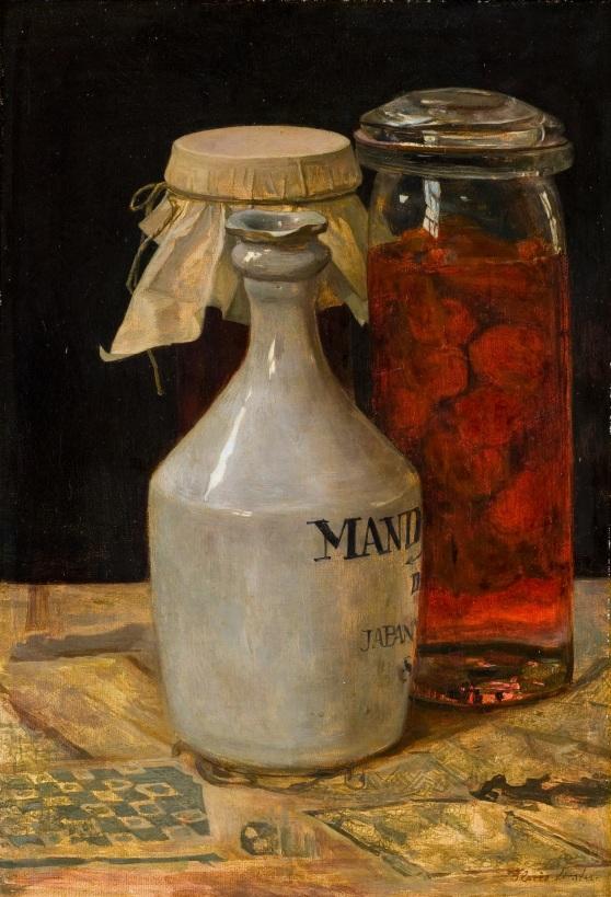 Floris Verster, Soyakruik en inmaakflessen, 1910, Kröller-Müller Museum