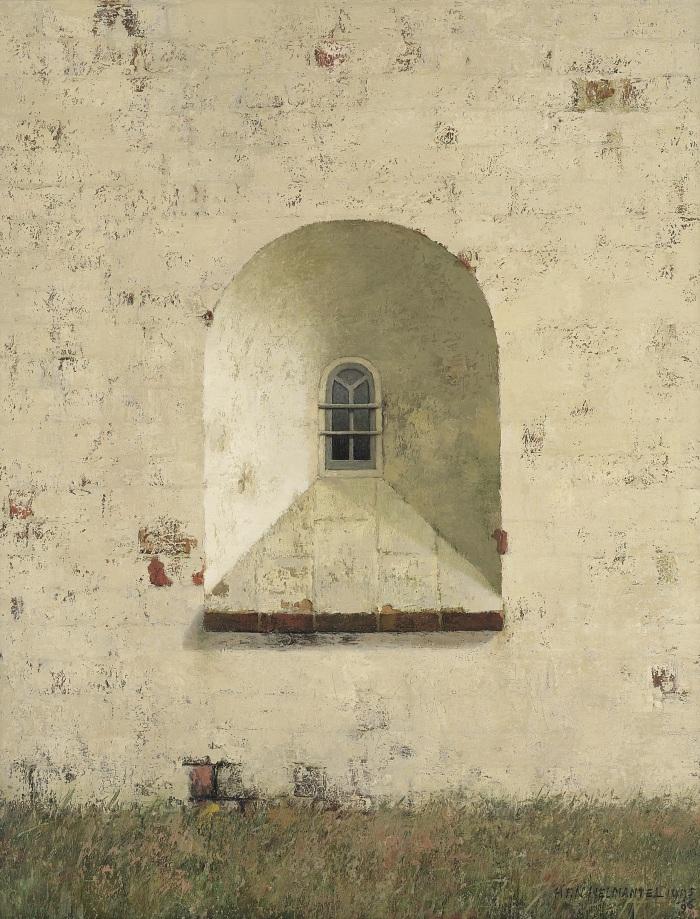 Henk Helmantel, Romaans venster in noordmuur vd kerk van Marsum, 1995, ©Art Revisited, Tolbert.jpg