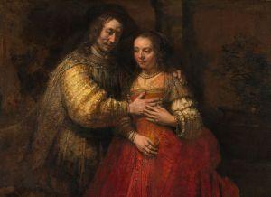 Rembrandt_Harmensz._van_Rijn_-_Portret_van_een_paar_als_oudtestamentische_figuren,_genaamd_'Het_Joodse_bruidje'_-_Google_Art_Project