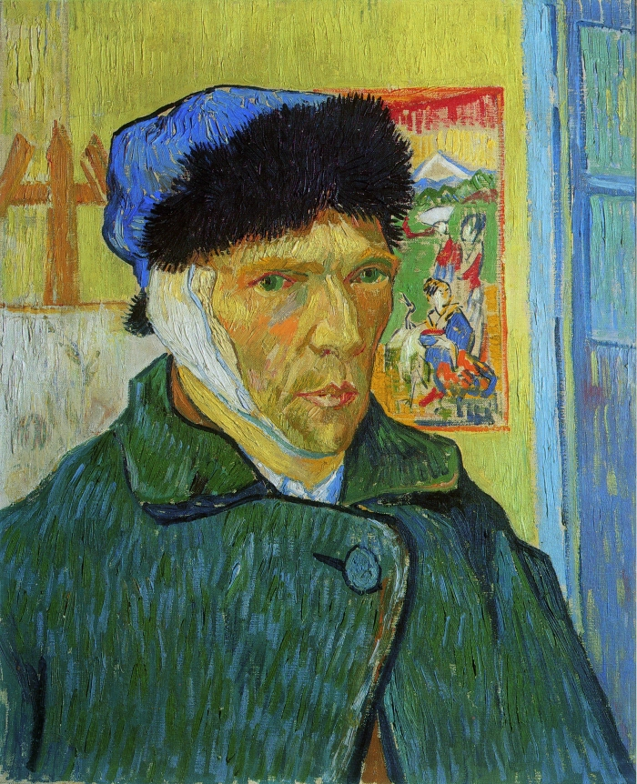 Van Gogh, Self-Portrait with Bandaged Ear HR