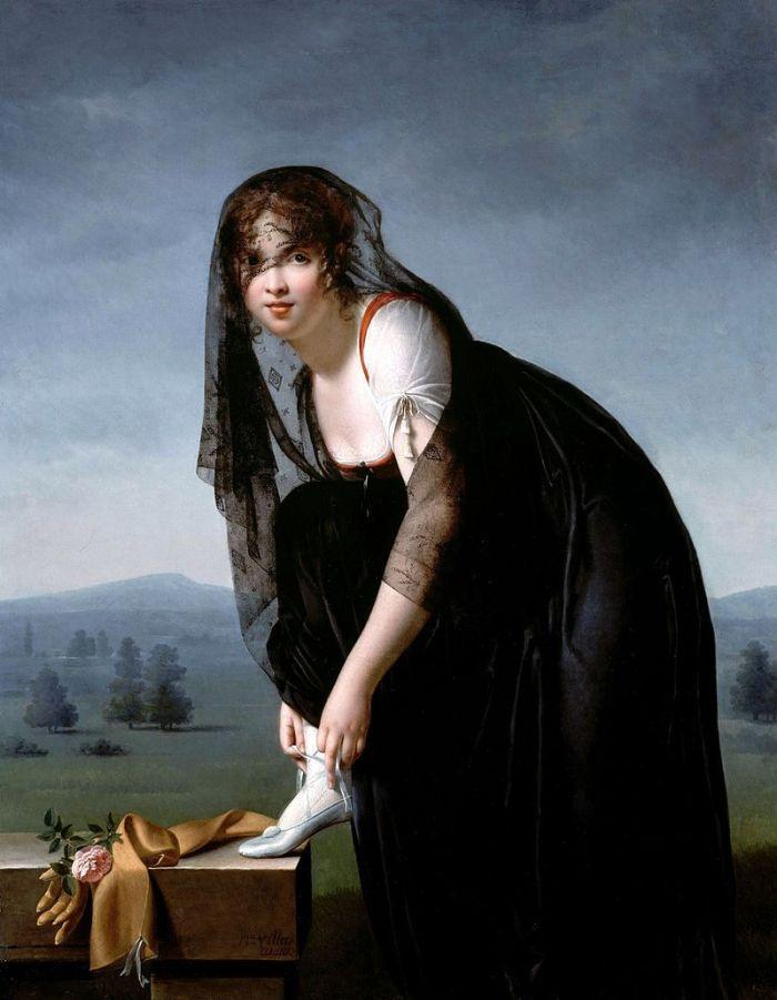 Une-tude-de-femme-d-apr-s-nature-portrait-de-madame-soustras