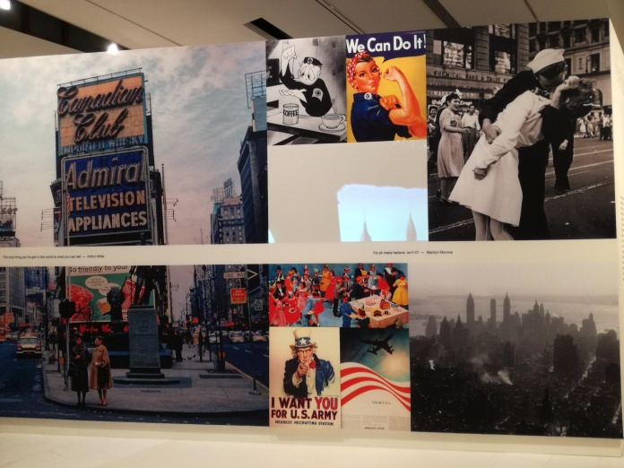 Fotocollage The American Dream, Drents Museum, Assen