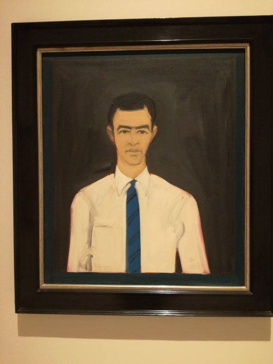 Self-portrait Alex Katz