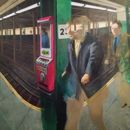 Robert Birmelin, A subway experience, 1966