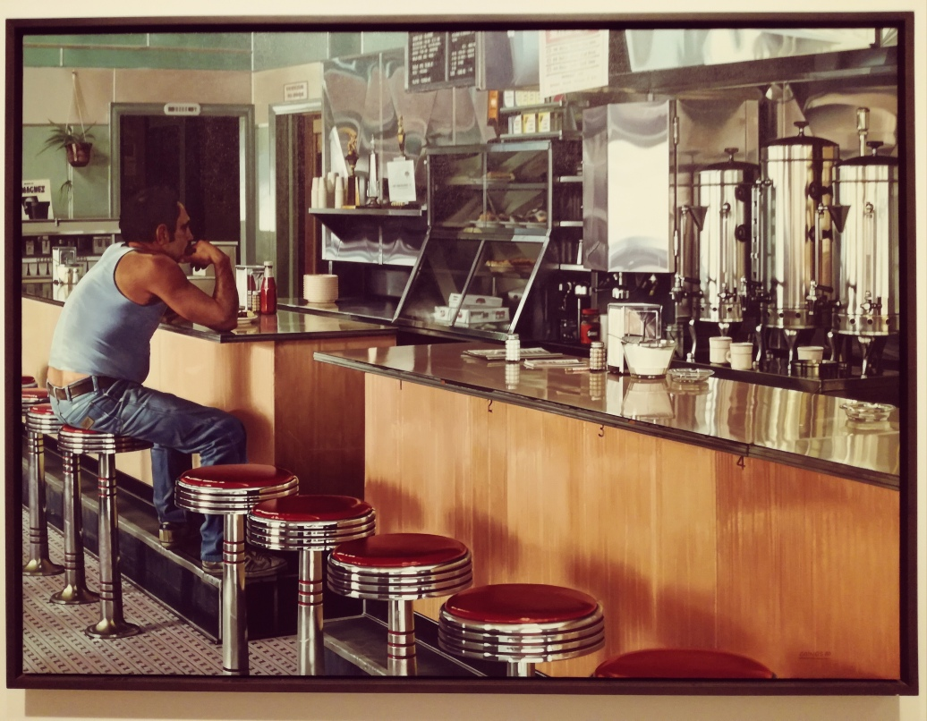 Ralph Goings, Amsterdam Diner, 1980