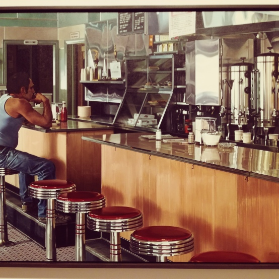 Ralph Goings, Amsterdam Diner, 1980