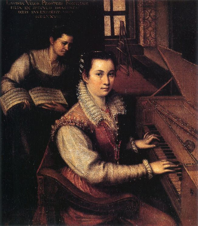 800px-Self-portrait_at_the_Clavichord_with_a_Servant_by_Lavinia_Fontana